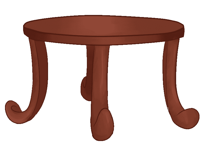 end table, used for navigation